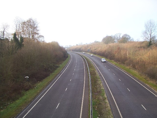 A3 from Bell Hill, Petersfield