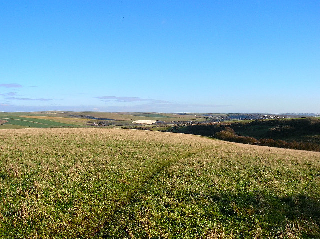 Downland between Peacehaven and Piddinghoe