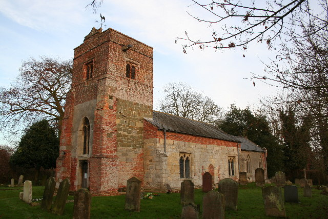 St.Margaret's church, Roughton, Lincs.