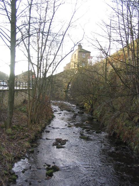 River Holme at Holmfirth