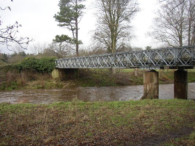 Bailey Bridge over River Allen