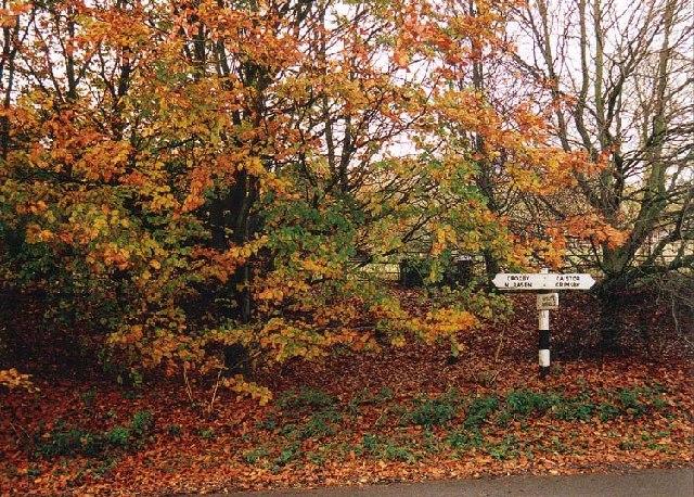 Beelsby signpost