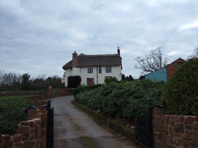 Farmhouse beside A379