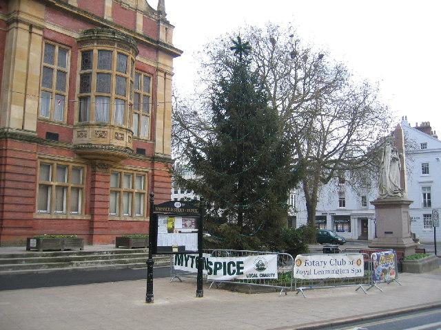 Christmas Tree, Royal Leamington Spa