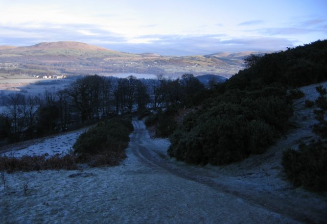 A Frosty Sale Fell Track.