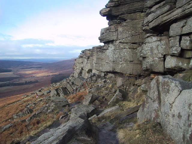 Dramatic Stones at Stanage Edge