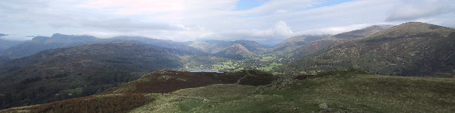 View from Loughrigg