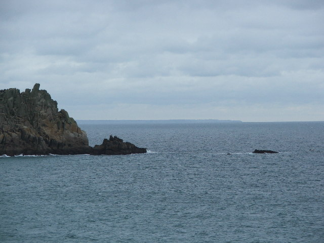 The southmost point of the Logan Rock, plus Horrace