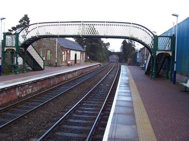 Dalston railway station.