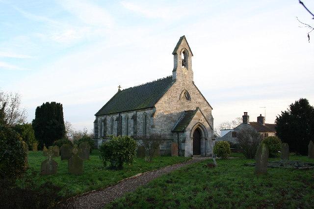 Holy Cross church, Kirkby Green, Lincs.