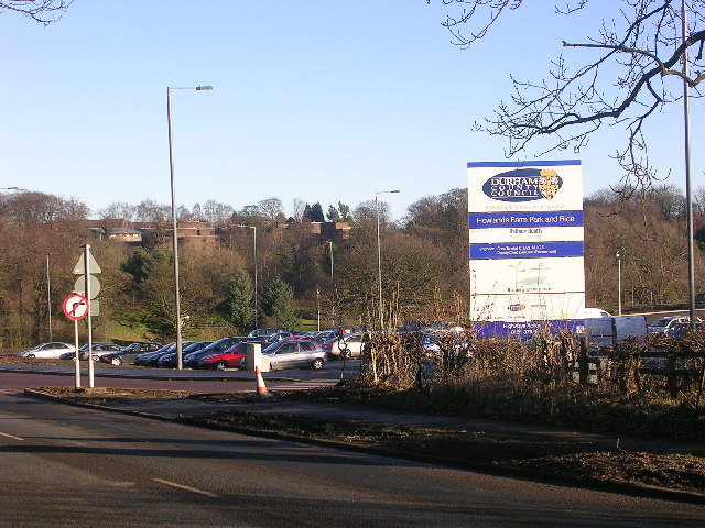Howlands Farm Park and Ride, Durham