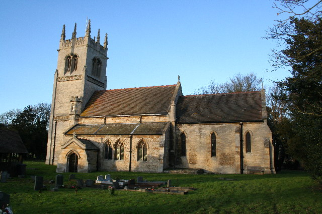 St.Oswald's church, Blankney, Lincs.