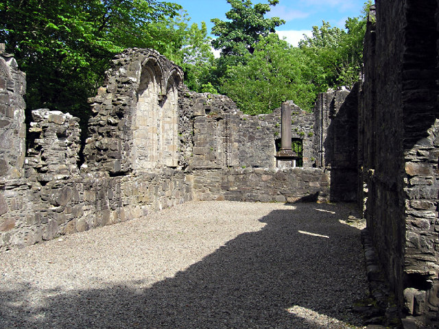 Chapel of Dunstaffnage castle - interior
