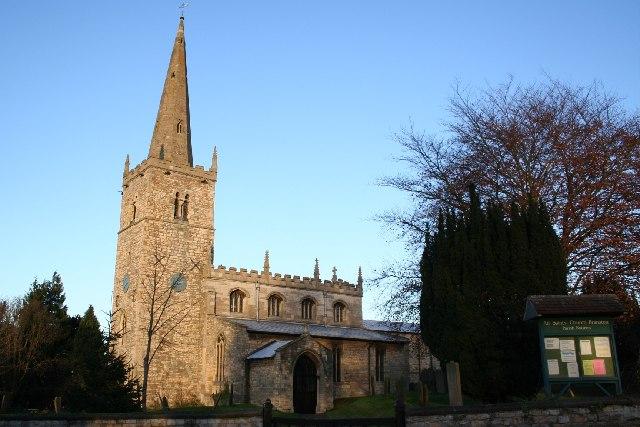 All Saints' church, Branston, Lincs.
