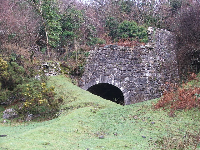 Remains of old lime kiln