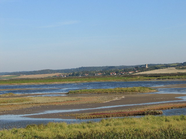 Salthouse from Cley East Bank