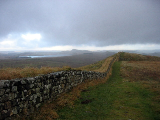Roman Wall above Hotbank Crags