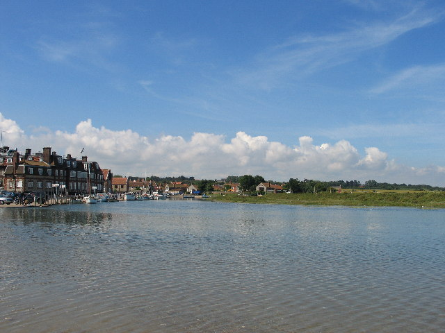 Blakeney at high tide