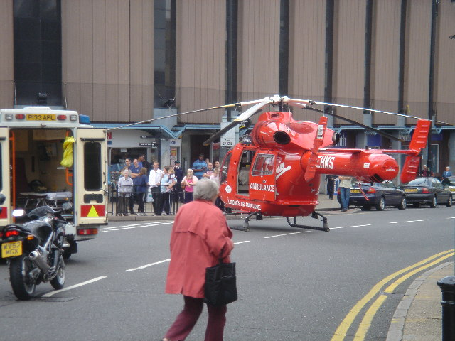 Belmont Road Uxbridge - Air Ambulance