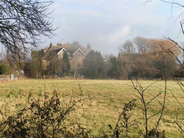 Marcham Priory from Mill Road