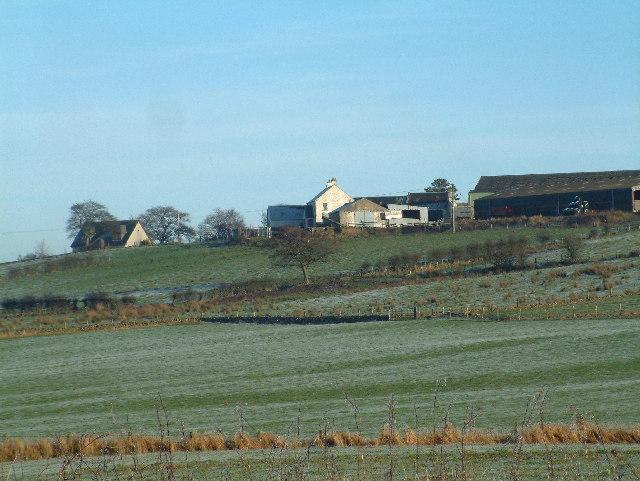 Mid Uplaw farm near Uplawmoor