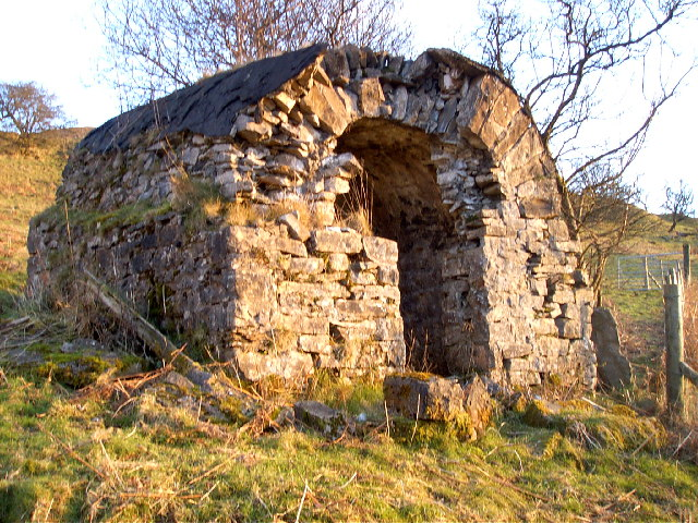 Gunpowder store at Baltic quarry