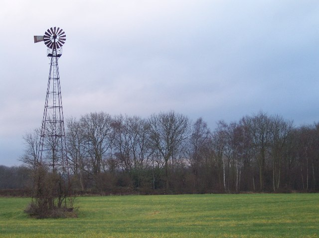 Wind Pump and Cowarne Wood