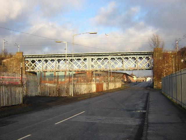 Railway Bridge in Wishaw