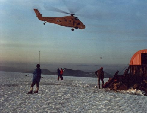 Ben Nevis rescue of 3 climbers