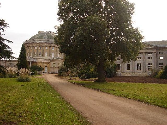 Ickworth House - the Rotunda and West Wing