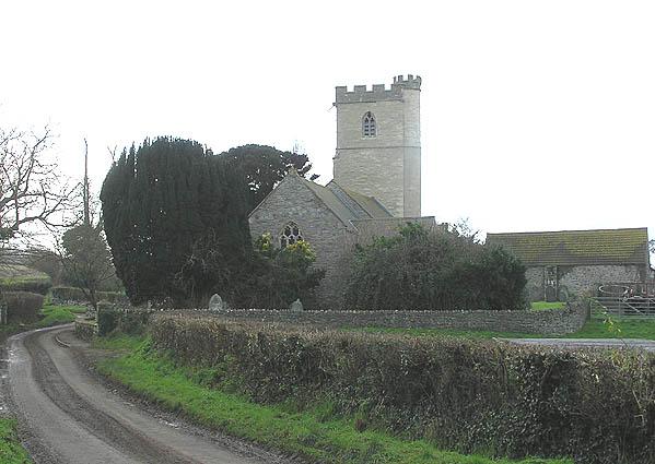 Otterhampton church