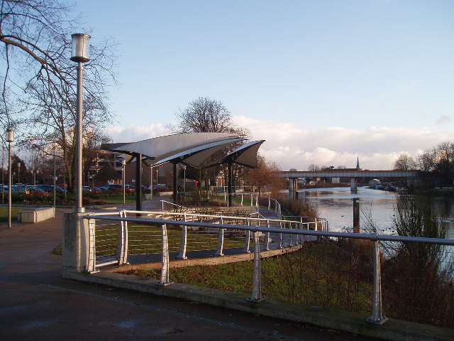 Staines riverfront