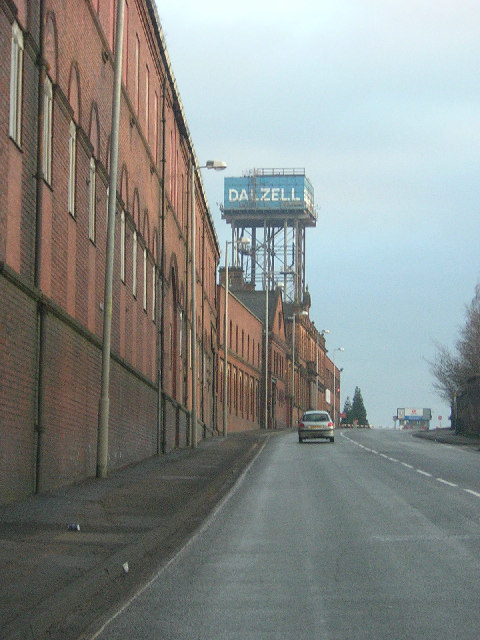 Dalzell Steel Works, Motherwell