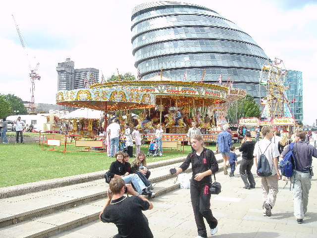 Funfair at the GLA Building