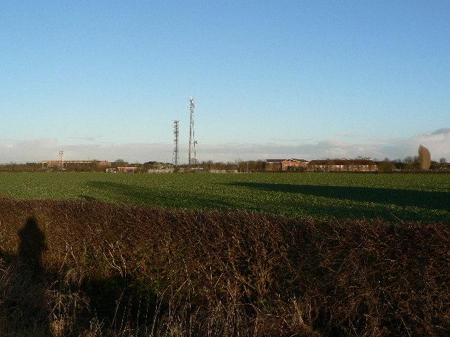 RAF Waddington Radio Masts
