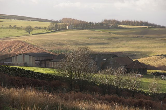 Farm buildings at West House
