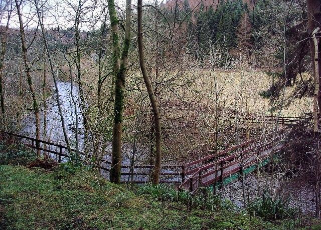 Footbridge over the Water of Ae