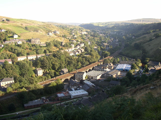 Gauxholme and the Walsden Valley, Todmorden