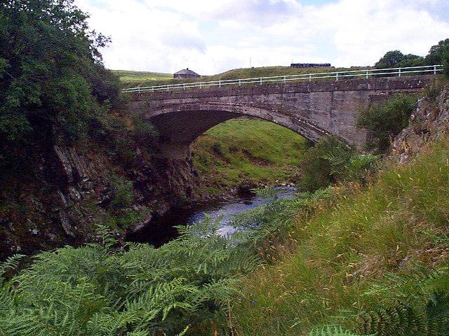 Road bridge at Linbriggs, Northumberland