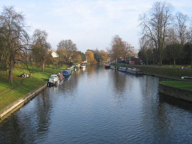Houseboats on the River Cam, Cambridge