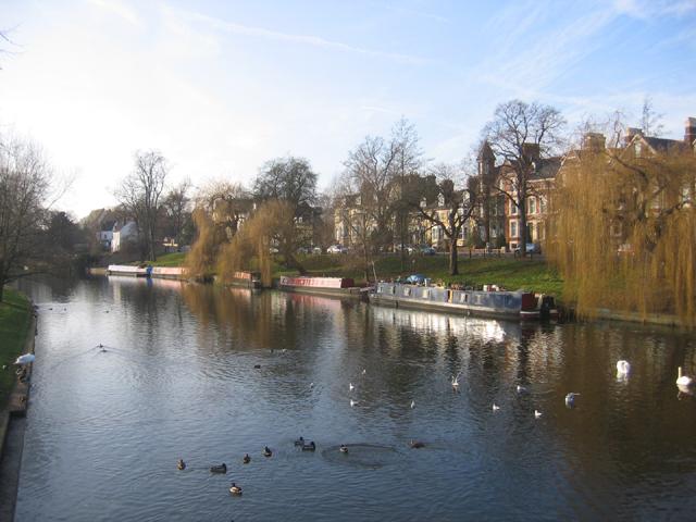 Chesterton Road and River Cam, Cambridge