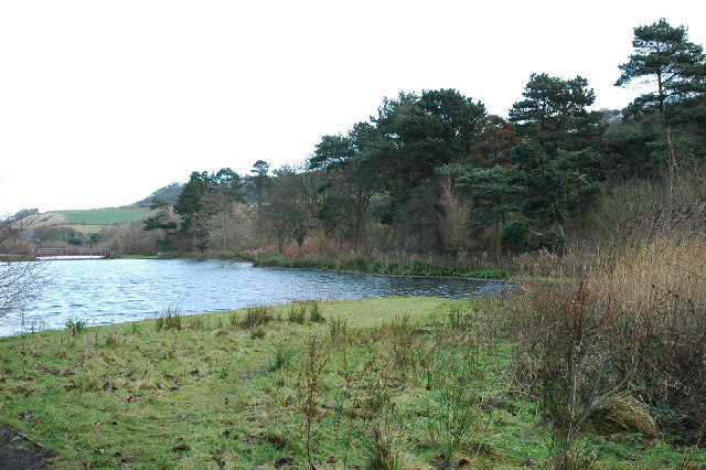 Southern end of Scarborough Mere