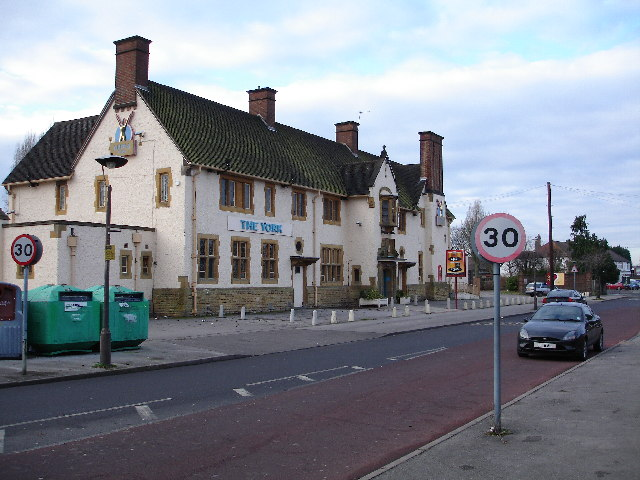 The York public house, York Road, Hall Green, Birmingham