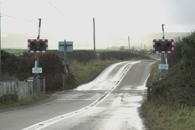Cayton Crossing in a shower