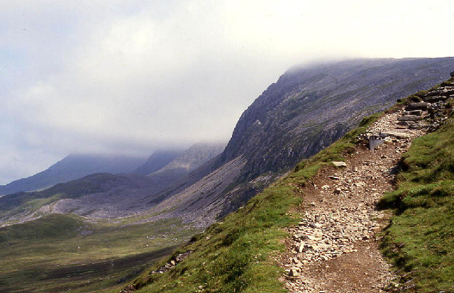 North face of Cader Idris, looking east