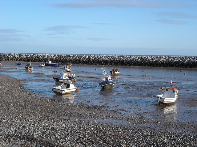 Low tide at Rhos on Sea