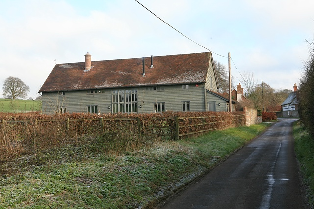 Converted barn at Lane End Farm, Longwood Dean Lane