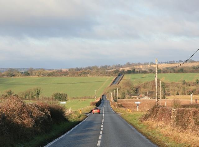 Longwood crossroads, near Owslebury
