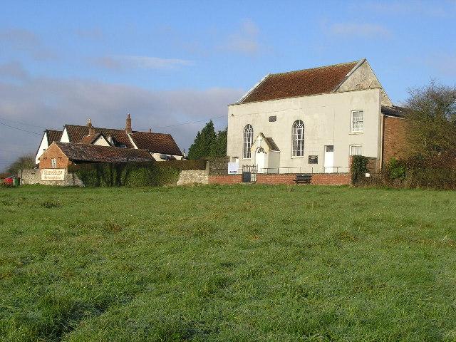 Bridgeyate, South Gloucestershire, Chapel and Pub