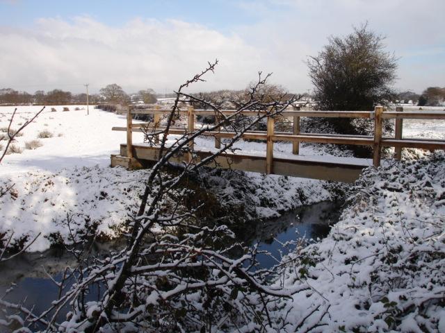 Footbridge Nr Hooe East Sussex